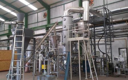 gasification demonstration plant at CEDER